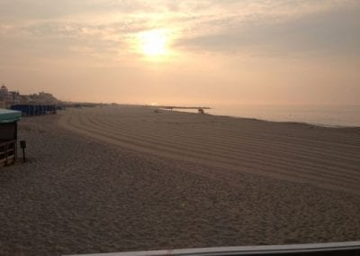 Cape May Morning Beach Walk