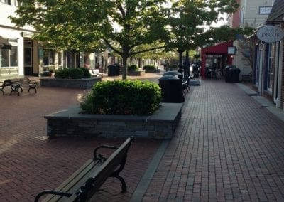 Cape May's pedestrian Mall