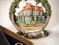 Queen Victoria Christmas Ornament