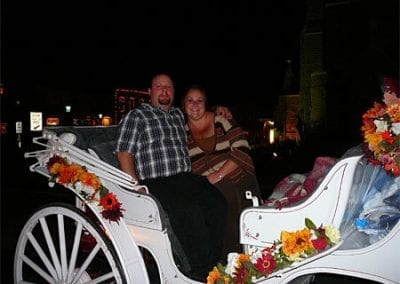 Guest Photos- Happy couple riding in carriage Cape May NJ