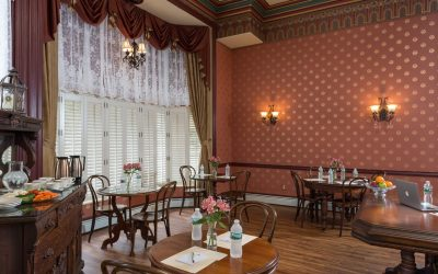 New Queen Victoria Meeting Space and Dining Room Now Open